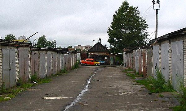 В Москве ограбили гаражный кооператив