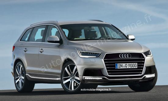 Audi выпустит семиместный внедорожник Q9