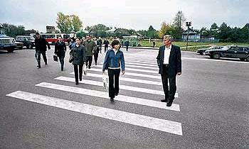 Пропустил пешехода – получи спецталон!