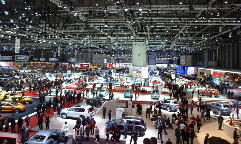 Автосалон в Женеве: что осталось за кадром