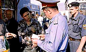 В Москве орудует банда в милицейской форме