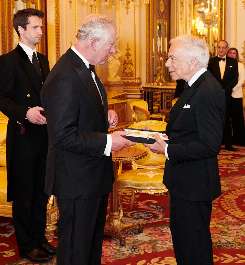 Его Королевское Высочество принц Уэльский и Ральф Лорен