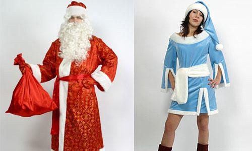 Водителей нарядят в костюмы Деда Мороза и Снегурочку