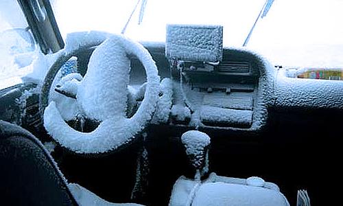 ГИБДД Алтайского края просит водителей отложить поездки из-за морозов