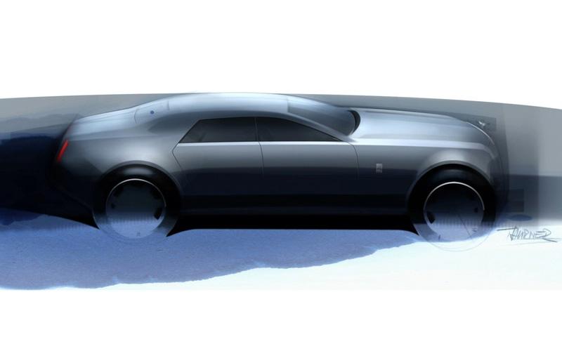 Опубликованы первые скетчи Rolls-Royce RR4