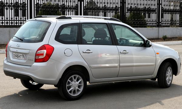 Новая Lada Kalina универсал поступила в продажу