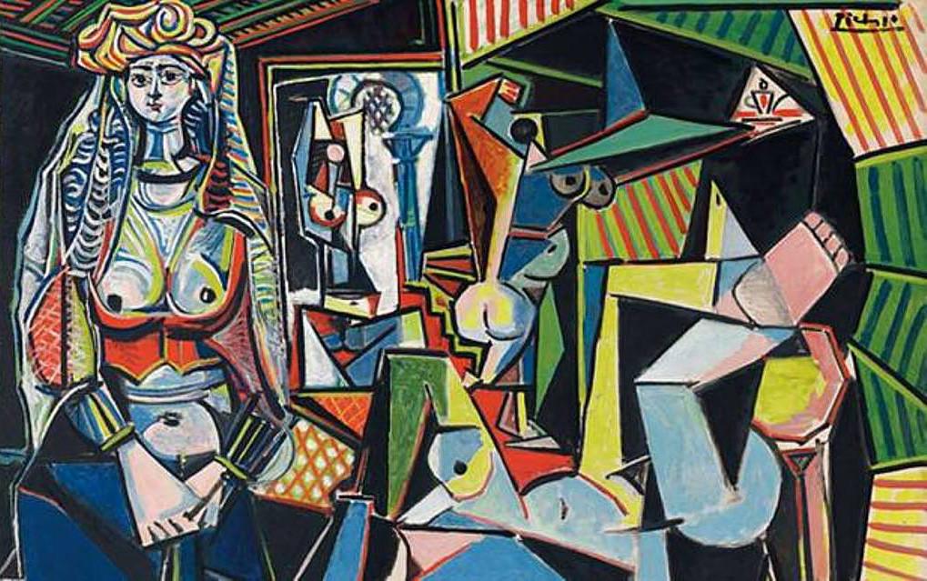Пабло Пикассо. «Алжирские женщины (версия О)», 1955