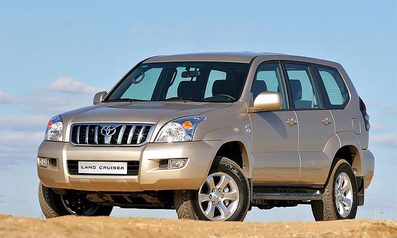 У ханты-мансийских коммунальщиков украли Toyota Land Cruiser