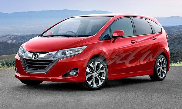 Новая Honda Jazz появится в 2014 году