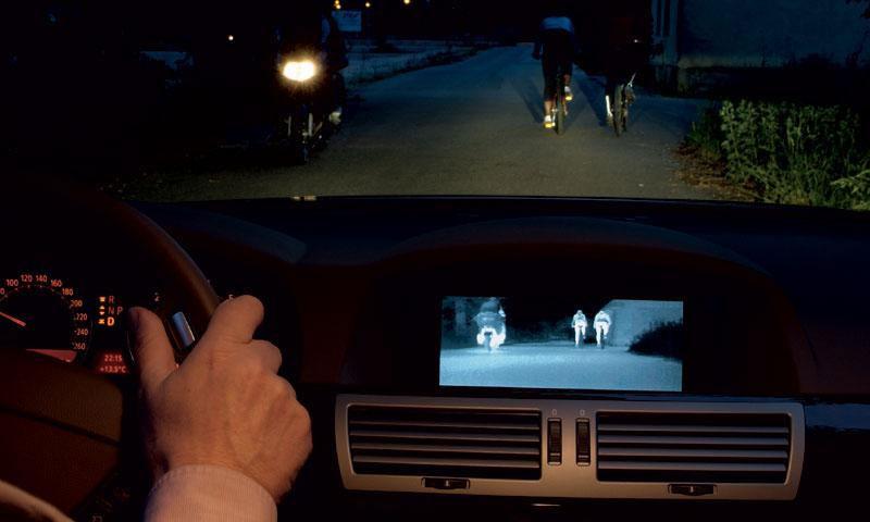 BMW адаптировала систему ночного видения для 5-й и 6-й серий