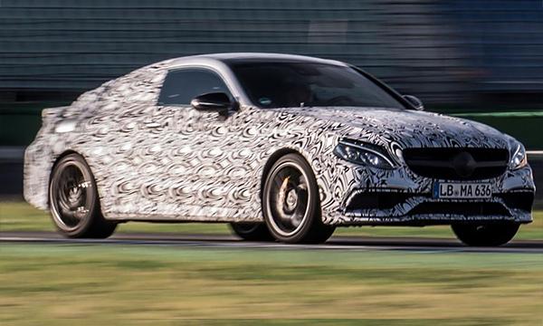 Mercedes привезет во Франкфурт новое спортивного купе