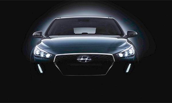 Хэтчбек Hyundai i30 нового поколения впервые показали на видео
