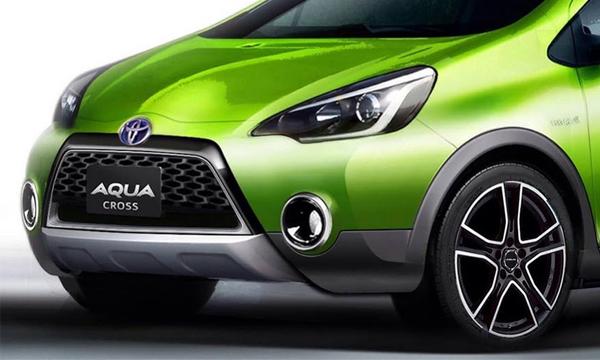 Toyota показала мини-кроссовер  Aqua Cross Concept