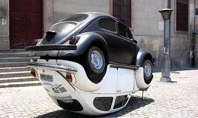 В Бразилии установили памятник Volkswagen Beetle