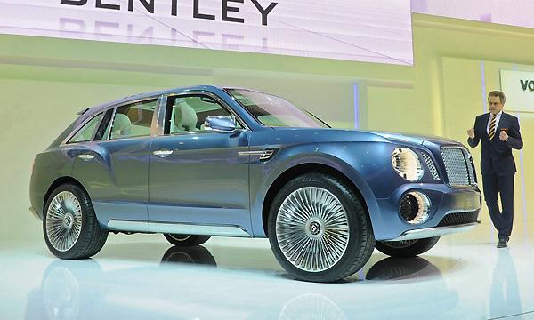 Внедорожник от Bentley будет производиться в Словакии