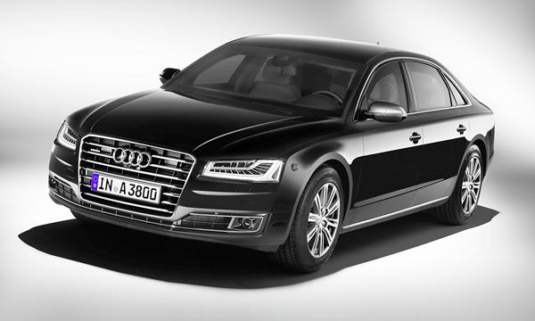 В Audi рассказали о новой бронированной A8