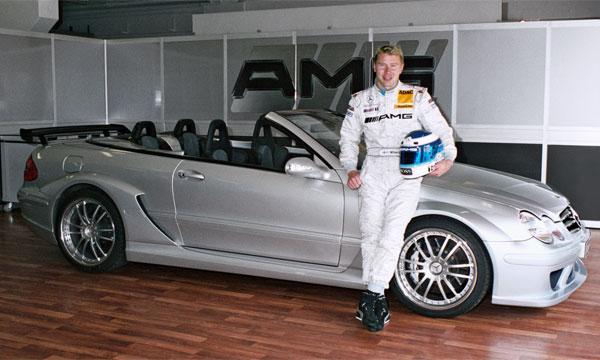 Мика Хаккинен уже прикупил себе CLK DTM AMG Cabriolet