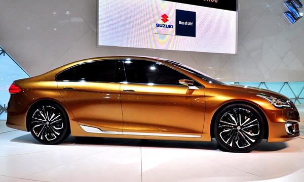 Suzuki представила новый седан