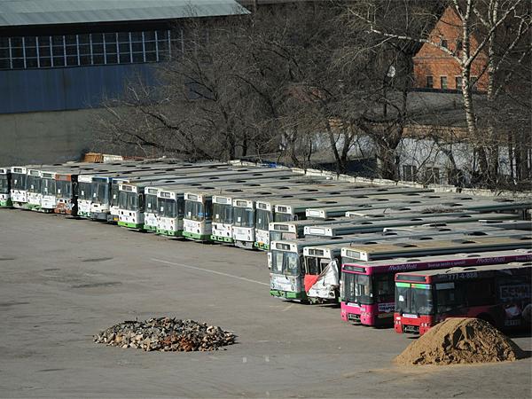 В Москве откроют парковки для туристических автобусов