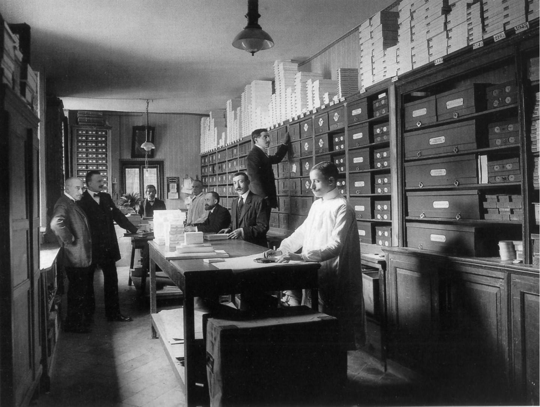 Бутик Loewe в Мадриде, 1905
