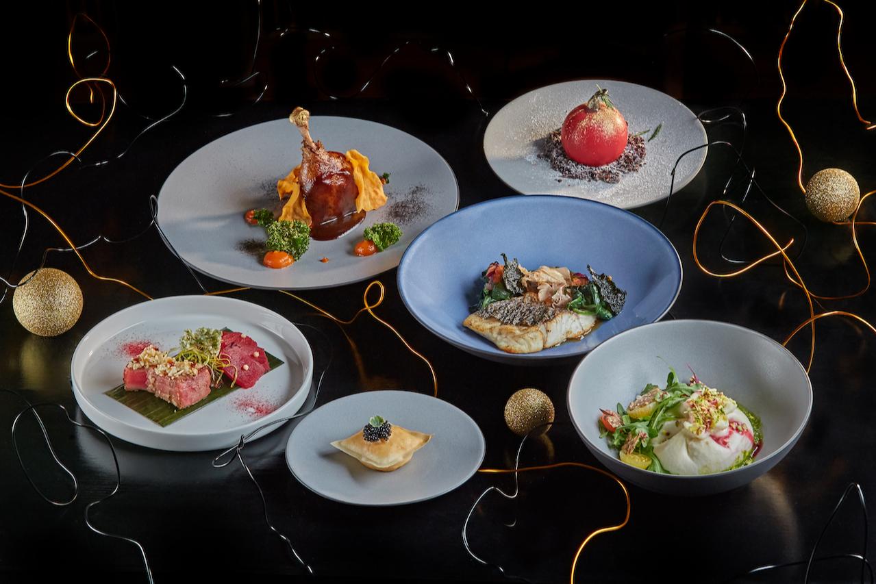 Гастрономический сет из пяти блюд The Future is Here