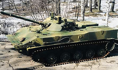 В Рязани боевая машина десанта раздавила гусеницами Ладу