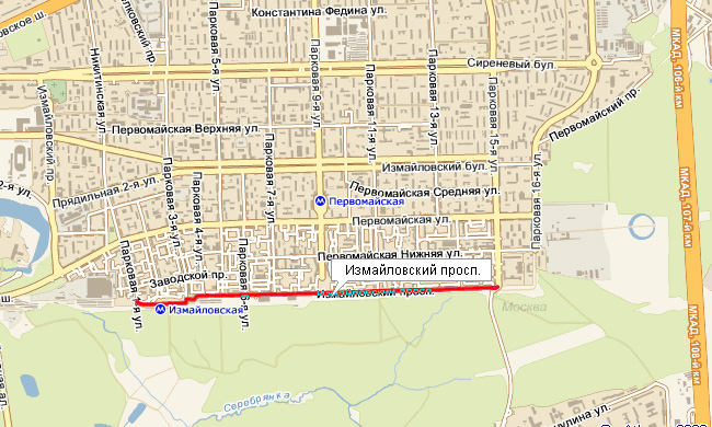 Измайловский проспект в Москве станет подземным