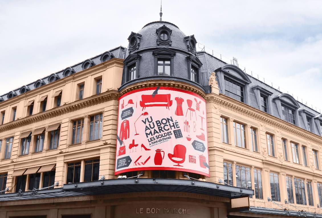 Парижский универмаг Le Bon Marche
