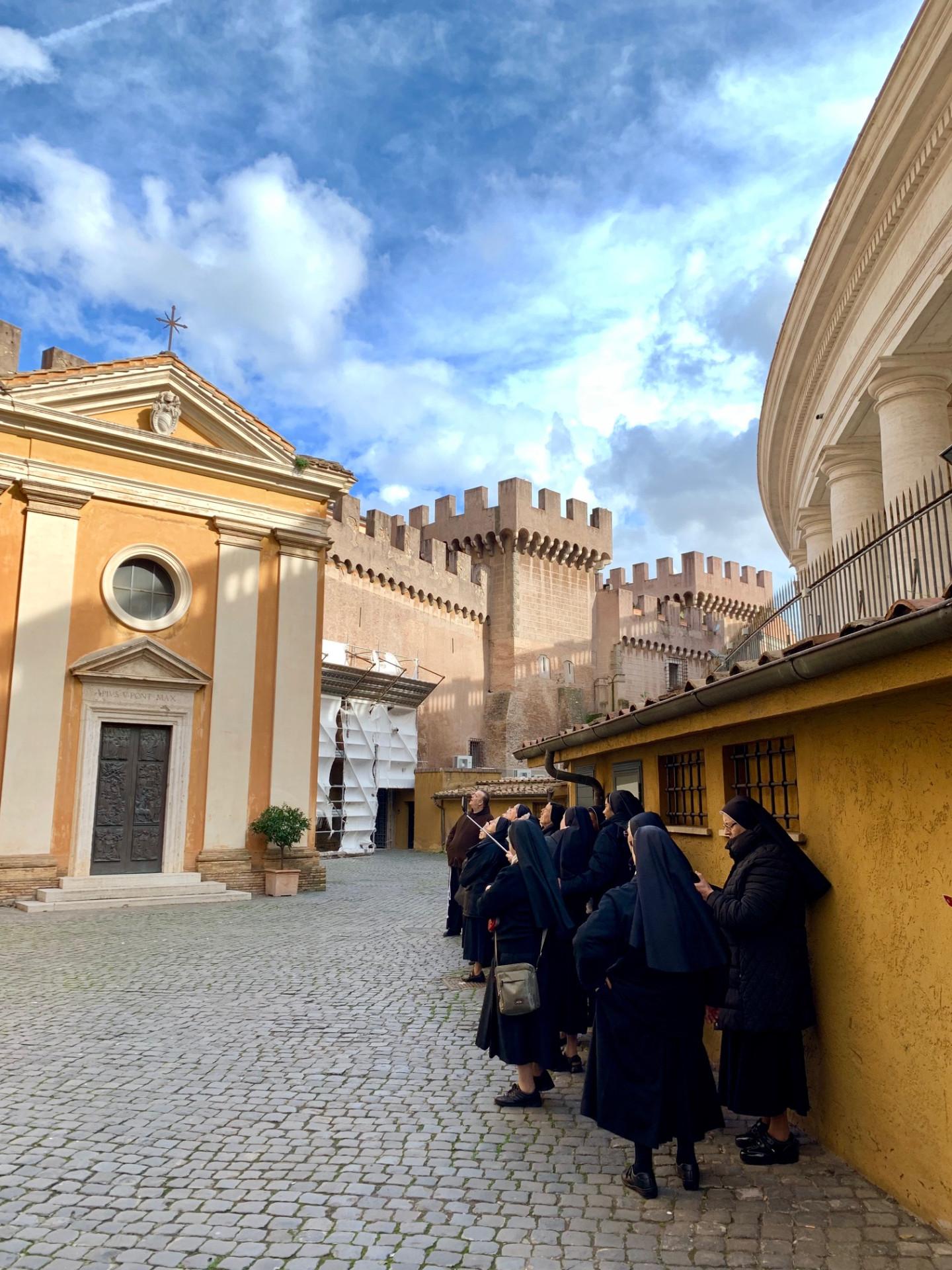 Улица в Ватикане