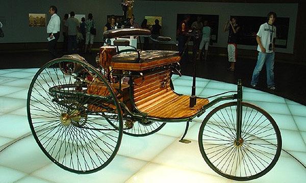 Benz Patent Motorwagen – самый инновационный автомобиль