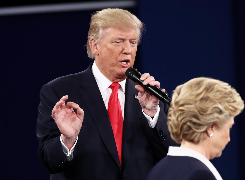 Дональл Трамп и Хиллари Клинтон