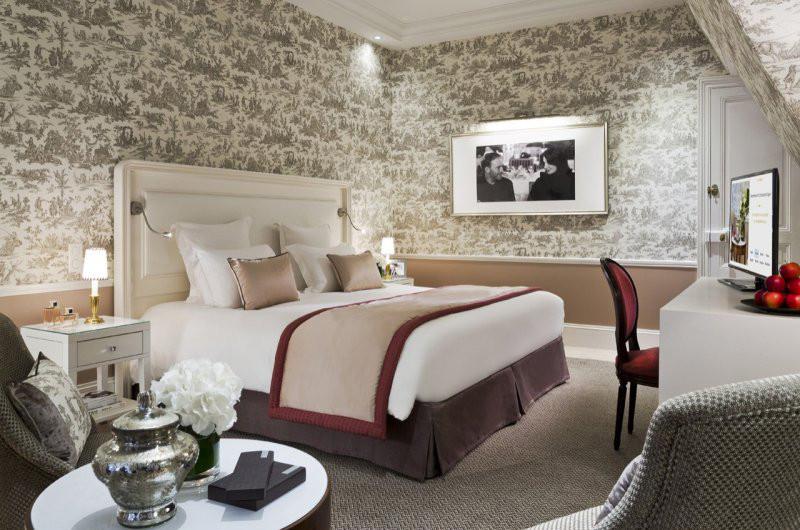 Сьют «Suite Un homme et une femme» в гранд-отеле Normandy