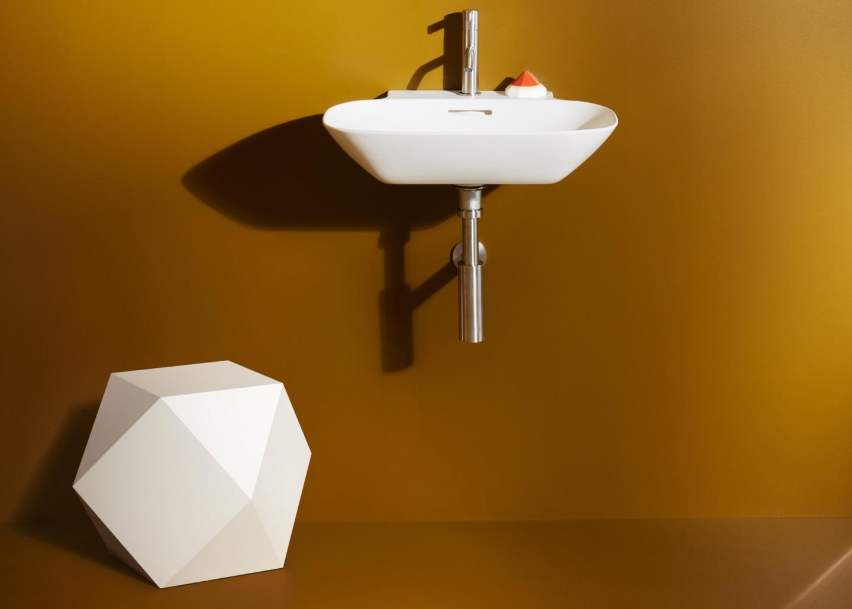 Скульптура Ikos и керамическая мыльница Trio Dish (SaphirKeramik), Home Collection, Laufen