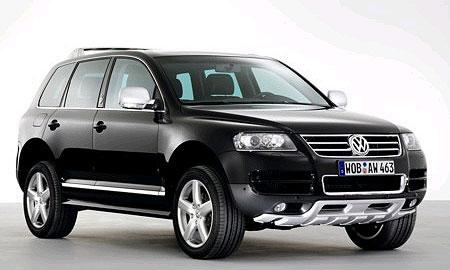 Volkswagen сделает Touareg Kong только для Европы