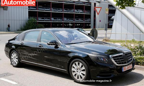 Mercedes-Benz S-Class Pullman заметили на тестах