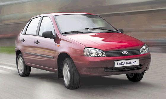 Европейские продажи Lada Kalina начнутся в апреле