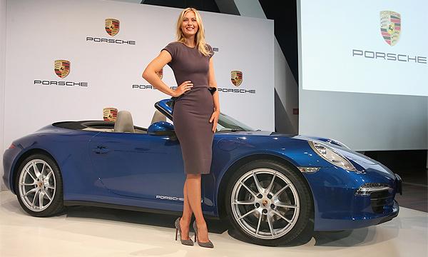 Мария Шарапова стала лицом бренда Porsche