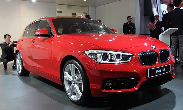 BMW 1-Series оснастили трехцилиндровым двигателем