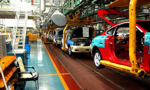 Производство легковых машин в июле выросло на 9%