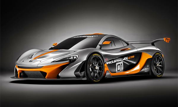 McLaren представил гоночный суперкар P1 GTR