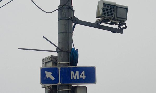 На МКАД камеры начнут фиксировать выезд на обочину