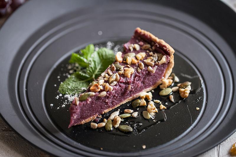 Десерт: Тарт из пеламуши