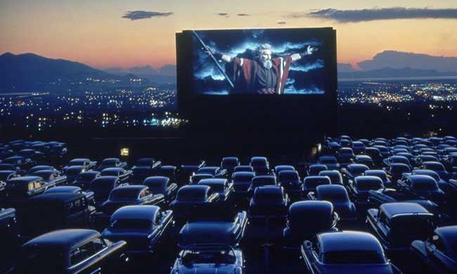 В Петербурге появится кинотеатр drive in