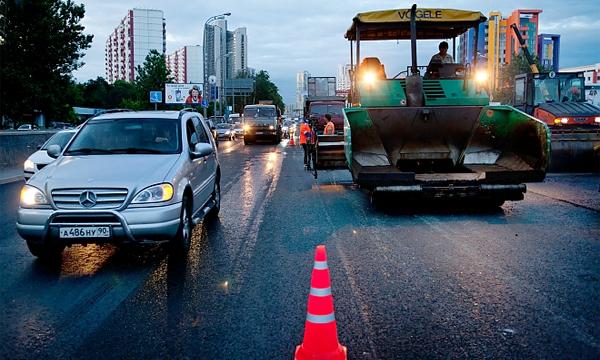 К чему приведет ремонт дорог под дождем