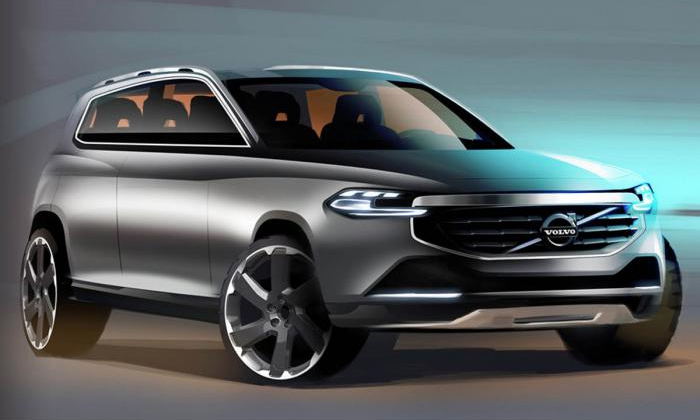 Новый Volvo XC90 не получит мощных двигателей