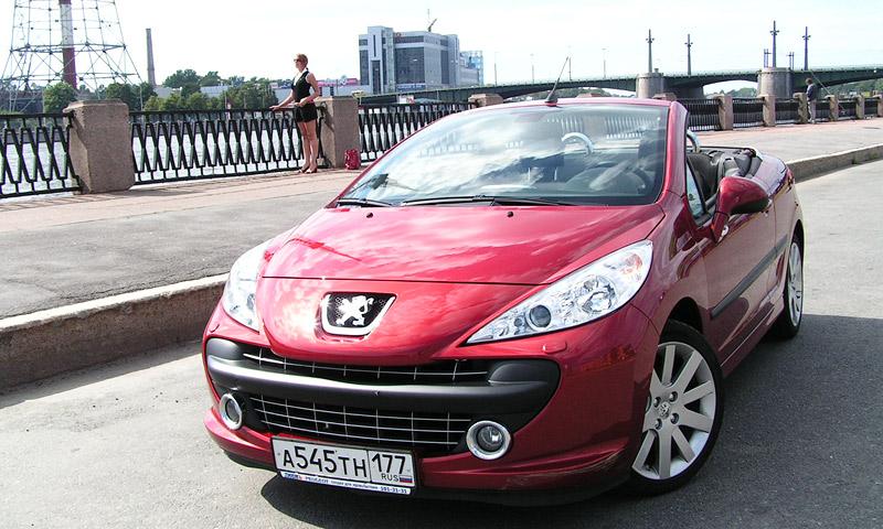 До Питера на  Peugeot без крыши