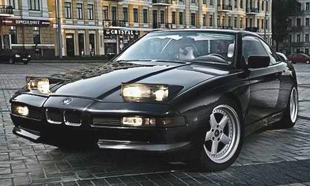 Серега избавляется от черного BMW 850