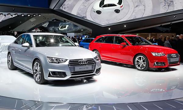 Новая Audi A4 появится в продаже осенью