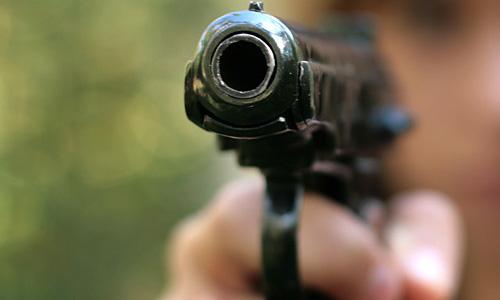 На Бусиновской развязке расстреляли водителя Ford Focus