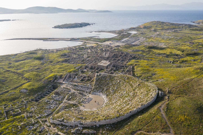 Остров Делос